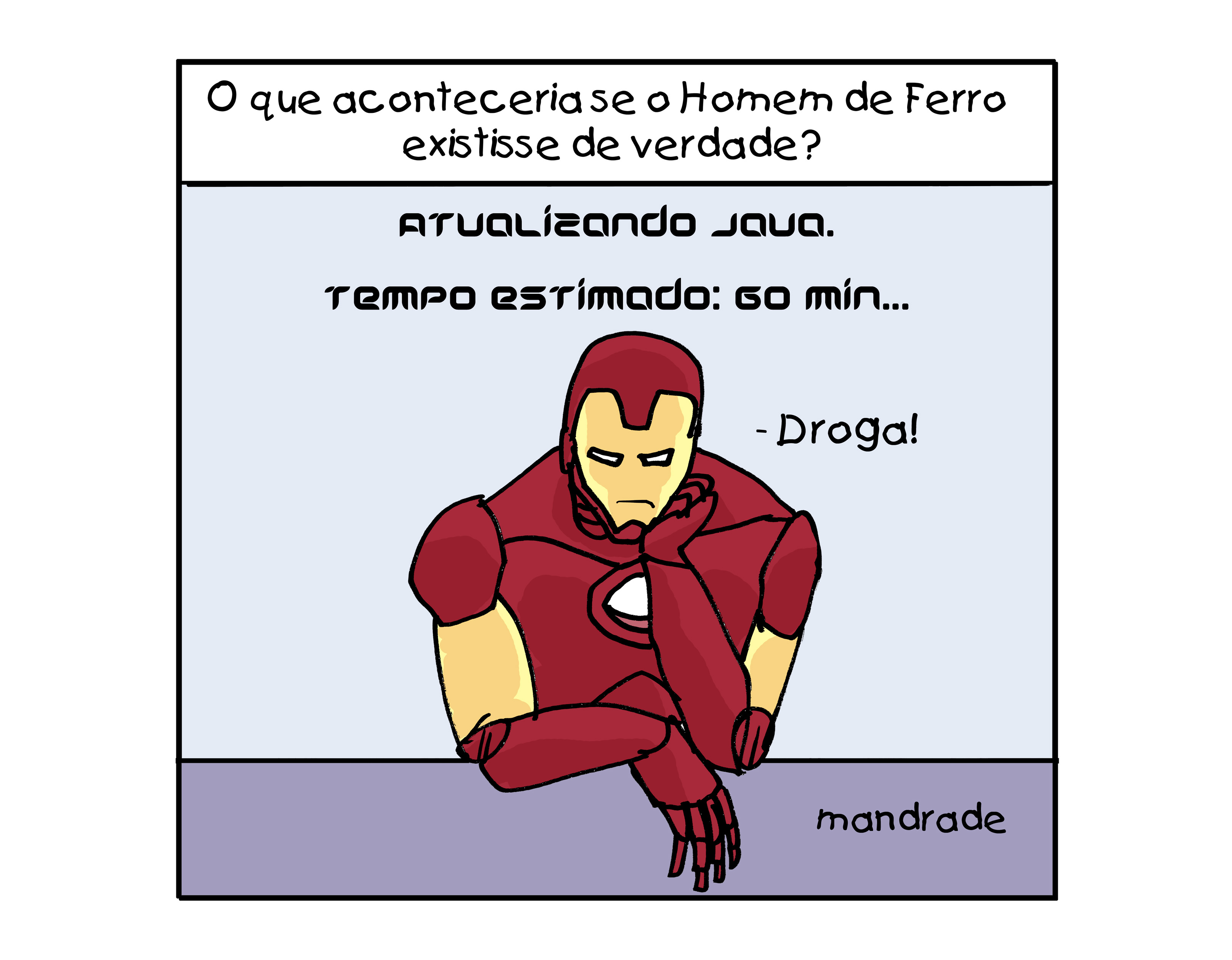 O que aconteceria se o Homem de Ferro existisse de verdade?