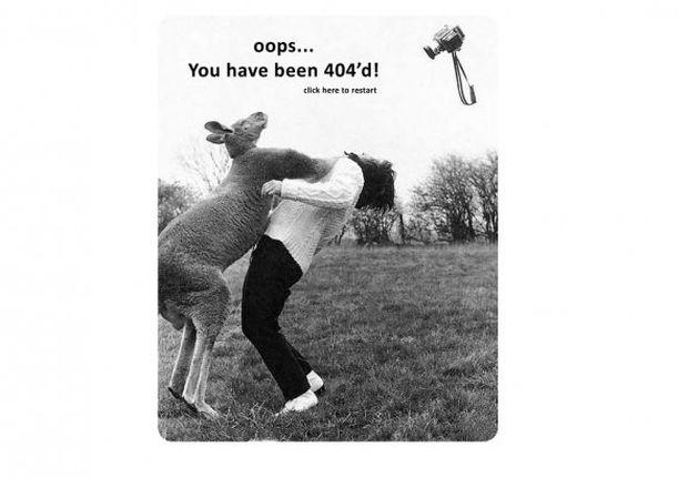 Página de erro 404 da Local Fitness (Foto: Reprodução/BusinessInsider)