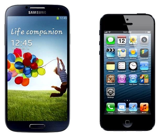Galaxy S4 superou o rival iPhone 5 facilmente (Foto: Reprodução/ItProPortal)