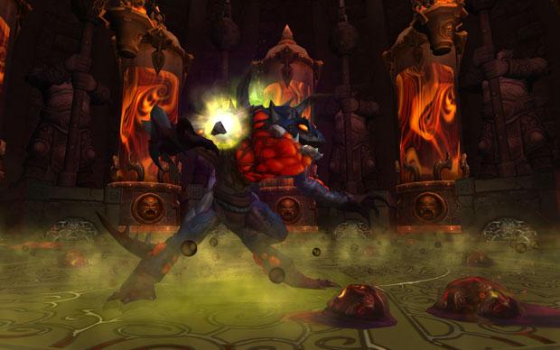 Monstros de todos os tipos na atualização 5.2 de World of Warcraft (Foto: Divulgação)