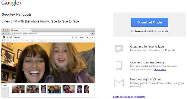 Google aposta muito nos hangouts (Foto: Divulgação)