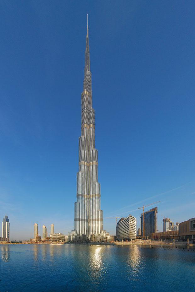 Burj Khalifa, em Dubai (Foto: Reprodução)