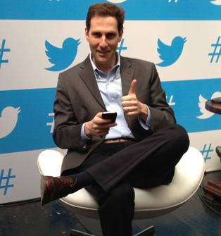 Diretor-geral do Twitter no Brasil, Guilherme Ribenboim (Foto: Nick Ellis/TechTudo)