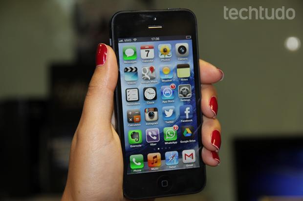 iphone5_fototechtudo (Foto: TechTudo / Marlon Câmara)
