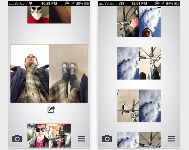 Capture os dois lados de um momento com o Dblcam (Foto: Divulgação)