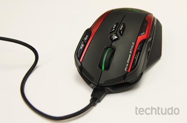Botões extras do GX Gaming Gila (Foto: TechTudo/Pedro Cardoso)