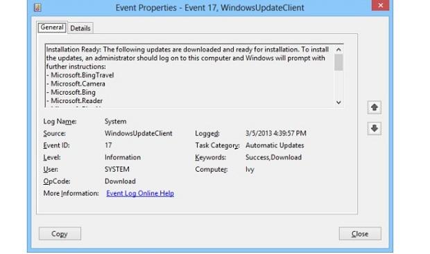 Imagem mostra sequência de updates do Windows (Foto: Reprodução/WinSuperSite)