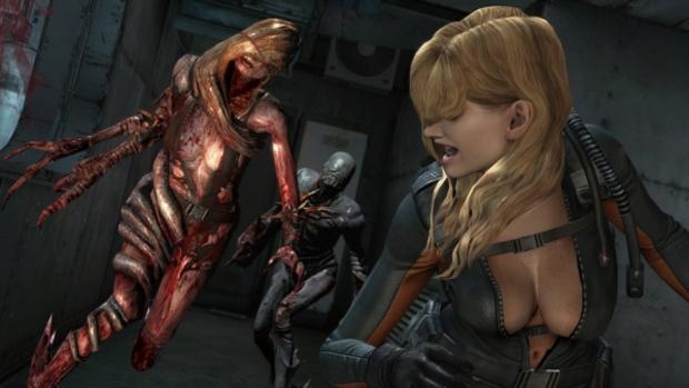 A novata Rachel é uma das adições ao Raid Mode de Resident Evil Revelations HD (Foto: Gematsu) (Foto: A novata Rachel é uma das adições ao Raid Mode de Resident Evil Revelations HD (Foto: Gematsu))