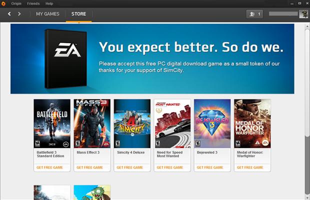 Usuários poderão escolher entre oito jogos da Electronic Arts como compensação (Foto: Divulgação)