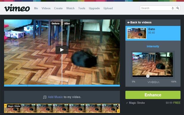 4 visualizando o efeito no video
