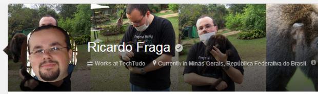 Localização do usuário passa a ser exibida no perfil do Google+ (Foto: Reprodução/Ricardo Fraga)