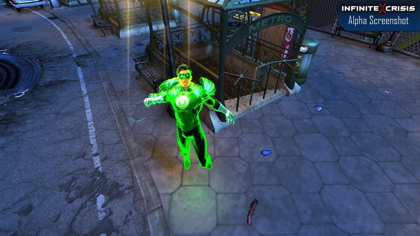 DC Universe Infinite Crisis terá estilo parecido com o famoso Dota 2 (Foto: infinitecrisis.com)