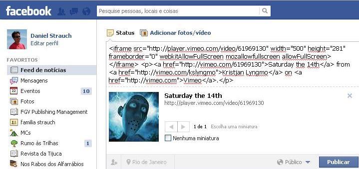 Apague o código e escreve a mensagem que quiser (Foto: Daniel Ribeiro) (Foto: Apague o código e escreve a mensagem que quiser (Foto: Daniel Ribeiro))