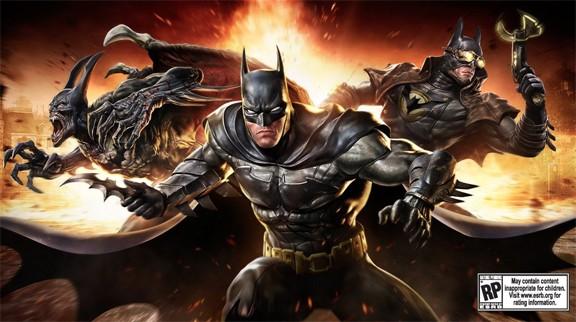 DC Universe Infinite Crisis terá várias versões dos personagens (Foto: Divulgação)