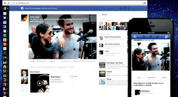 Nova timeline do Facebook lançada em março de 2013