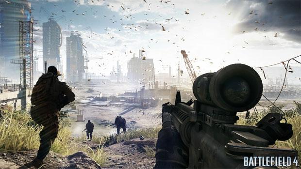 Battlefield 4 promete ambientes gigantescos (Foto: Divulgação) (Foto: Battlefield 4 promete ambientes gigantescos (Foto: Divulgação))
