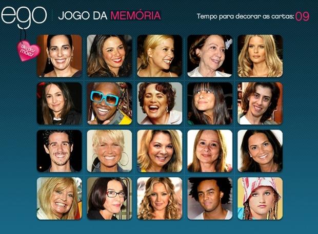 Jogo da memória: Dia das mães (Foto: Reprodução/ Raquel Freire)