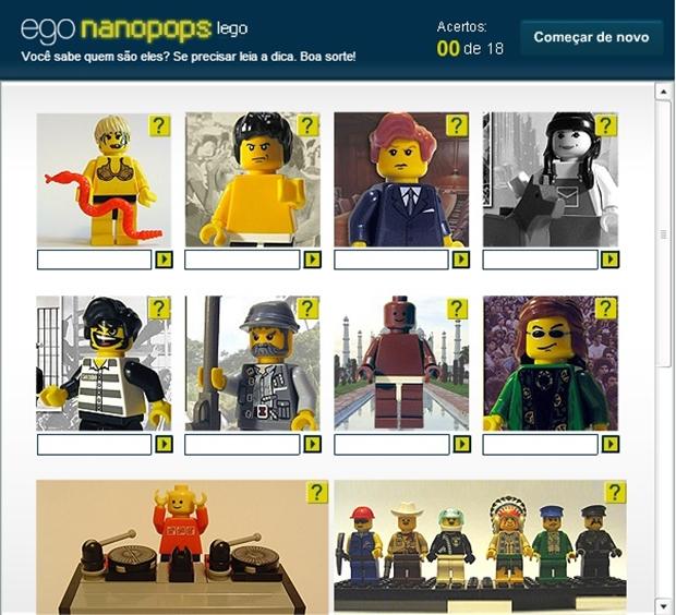 Ego Nanopops Lego (Foto: Reprodução/ Raquel Freire)