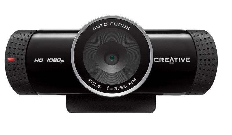 Creative Live Cam promete impedir a entrada de ruídos captados pelo microfone