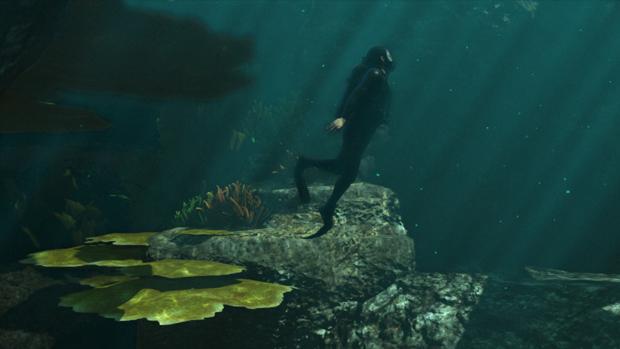 Jogadores também poderão observar o fundo do mar no jogo. (Foto: Divulgação) (Foto: Jogadores também poderão observar o fundo do mar no jogo. (Foto: Divulgação))