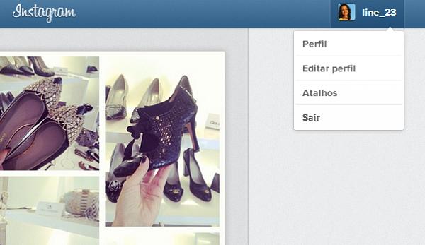 Editando e acessando o seu perfil no Instagram (Foto: Aline Jesus/Reprodução) (Foto: Editando e acessando o seu perfil no Instagram (Foto: Aline Jesus/Reprodução))