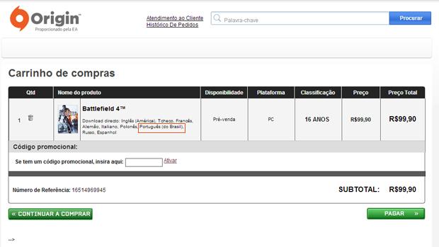 Battlefield 4 deverá ganhar versão em português do Brasil. (Foto: Reprodução)