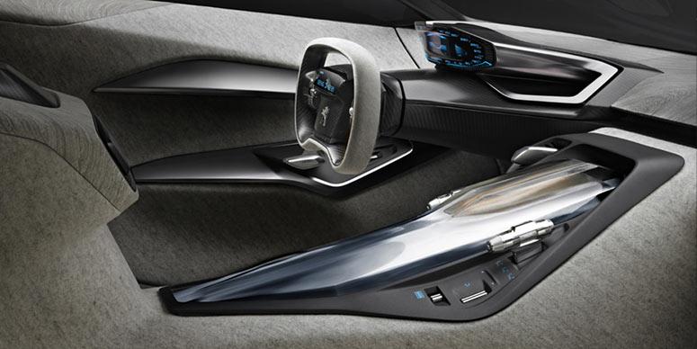 O belo interior do Onyx é feito com papel de jornal  (Foto: Divulgação/Peugeot)