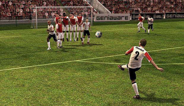Partidas de futebol serão em 3D em tempo real (Foto: Divulgação) (Foto: Partidas de futebol serão em 3D em tempo real (Foto: Divulgação))