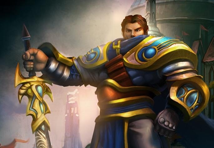 Chinês imita o personagem Garen de League of Legends e ataca pessoas na rua (Foto: Divulgação)