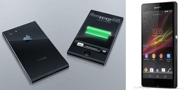 Conceito de iPhone 6 se parece bastante com XperiaZ, da Sony