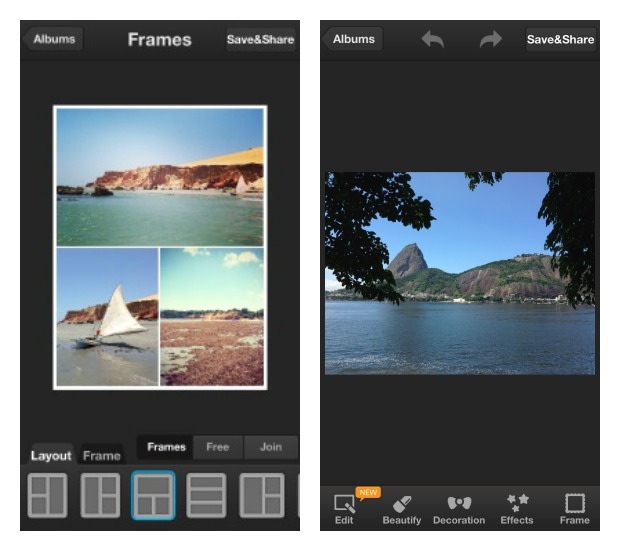PhotoWonder para iOS (Foto: Aline Jesus/Reprodução) (Foto: PhotoWonder para iOS (Foto: Aline Jesus/Reprodução))