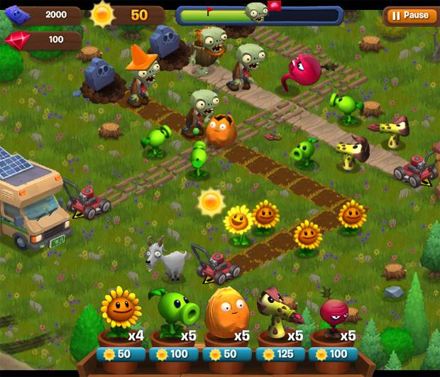 Plants vs. Zombies Adventures promete novas formas de jogar a série (Foto: Divulgação)