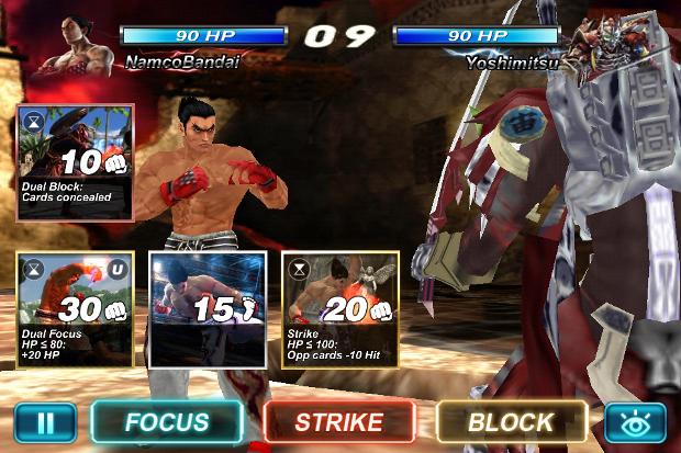 Tekken Card Tournament tem versões para Android e Computador (Foto: Divulgação)