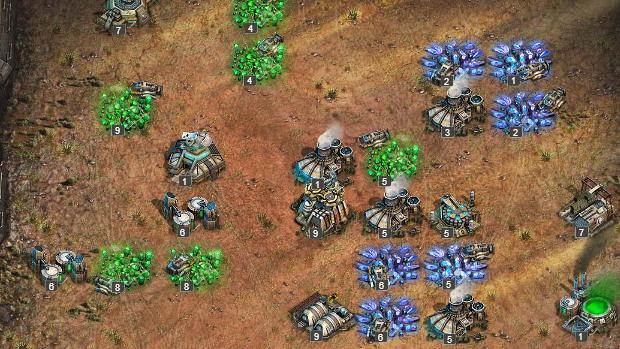 O jogador precisa identificar pontos de exploração para recolher itens. (Foto: Reprodução)