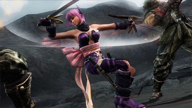 Novos personagens estão em Ninja Gaiden 3: Razor's Edge (Foto: Divulgação) (Foto: Novos personagens estão em Ninja Gaiden 3: Razor's Edge (Foto: Divulgação))