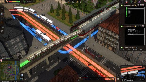 Em Cities in Motion o objetivo é administrar os transportes de sua cidade (Foto: Divulgação)