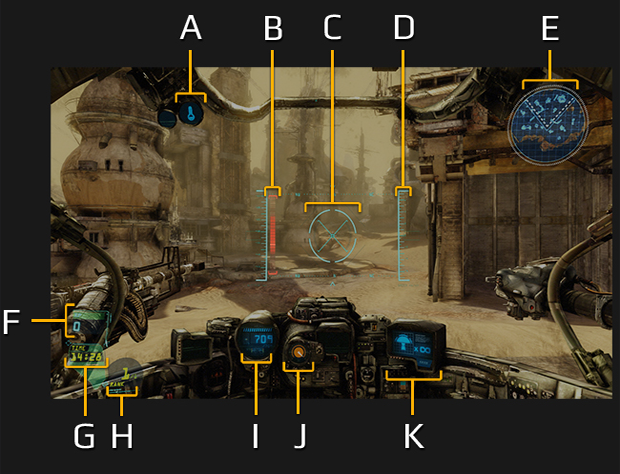 Display com opções detalhadas Hawken (Foto: Divulgação) (Foto: Display com opções detalhadas Hawken (Foto: Divulgação))
