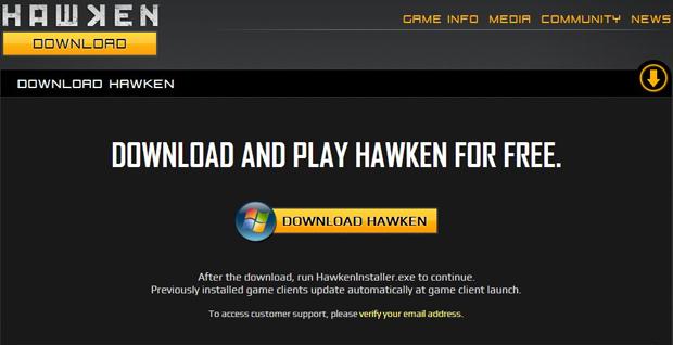 Hora de fazer o download de Hawken (Foto: Divulgação)