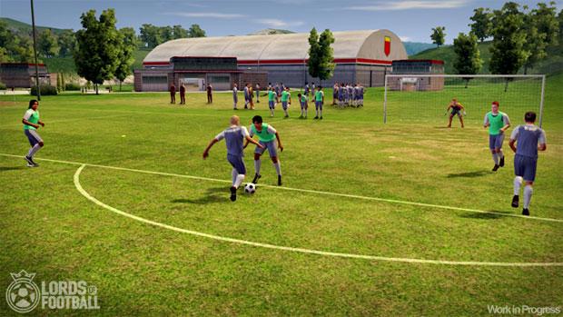 Lords of Football te deixa administrar a vida social de um time (Foto: Divulgação)