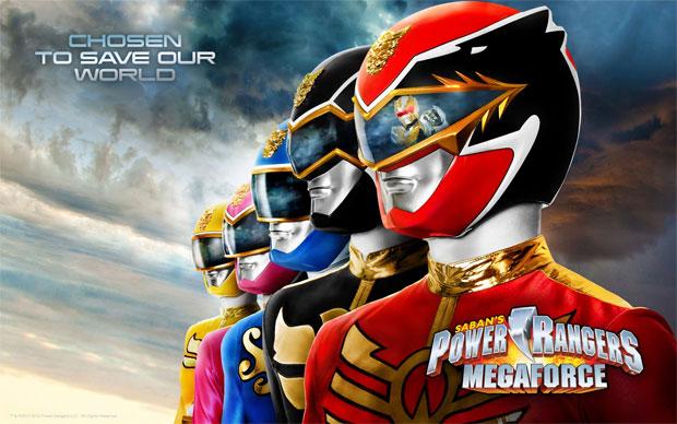 Power Rangers Megaforce deve ter jogos em breve (Foto: Divulgação)