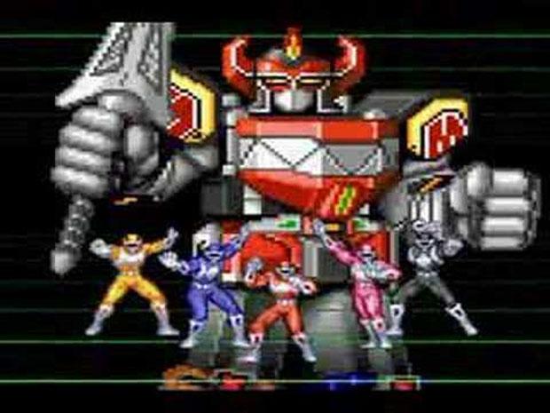 Power Rangers teve seu primeiro jogo em 1994 (Foto: Reprodução/VGLounge)