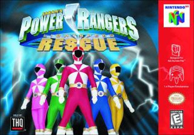 Power Rangers Lightspeed Rescue no Nintendo 64 (Foto: Reprodução/Spong)