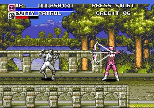 Versão Mega Drive era diferente (Foto: Reprodução/Rangers Online)