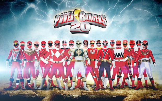 Power Rangers completam 20 anos (Foto: Divulgação)
