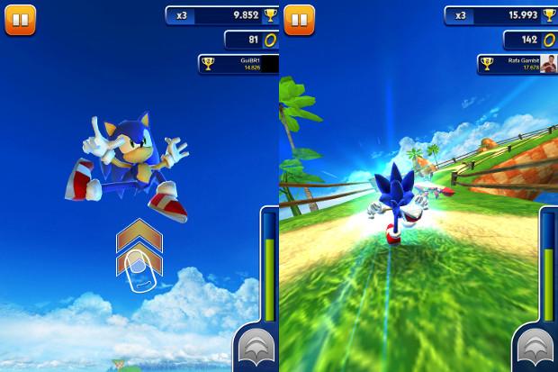 Sonic Dash tem gráficos excelentes (Foto: Reprodução)