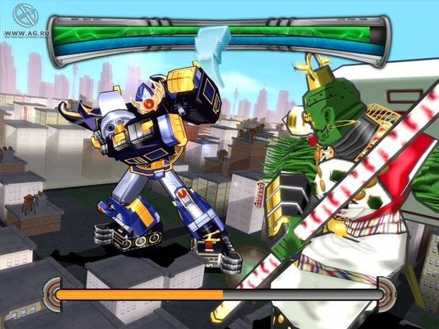 Power Rangers Super Legends tinha belos gráficos (Foto: Reprodução/AG.Ru)
