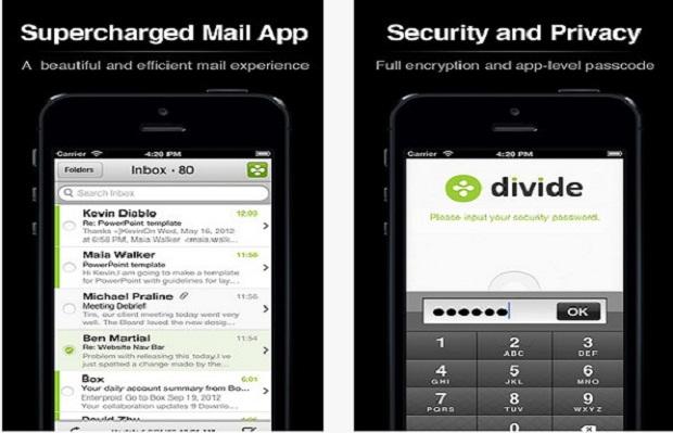Divide para iPhone (Foto: Reprodução)