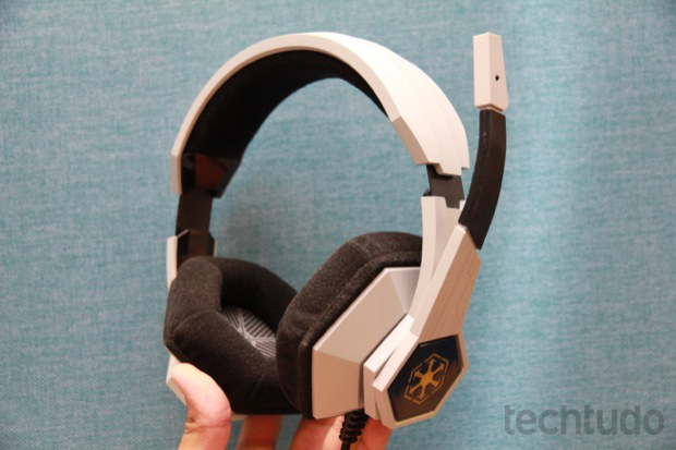 Headset da Razer Star Wars: The Old Republic (Foto: Allan Melo / TechTudo)