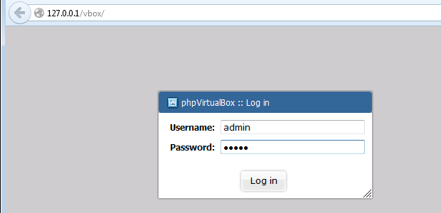Iniciando o acesso ao VirtualBox pelo navegador (Foto: Reprodução/Edivaldo Brito)