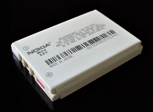 Bateria de íon-lítio para smartphones, o Li-Ion (Foto: Wikimedia Commons) (Foto: Bateria de íon-lítio para smartphones, o Li-Ion (Foto: Wikimedia Commons))